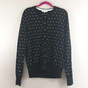 Foxcroft Cardigan Sweater Like New Size Large
